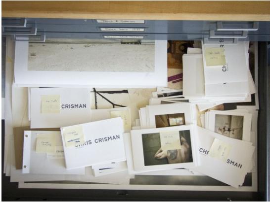 Chris Crisman, photography printing