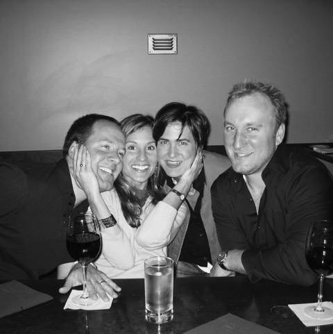 Jim, Leigh and Creative Director Matt Denten with happy McDonald's client
