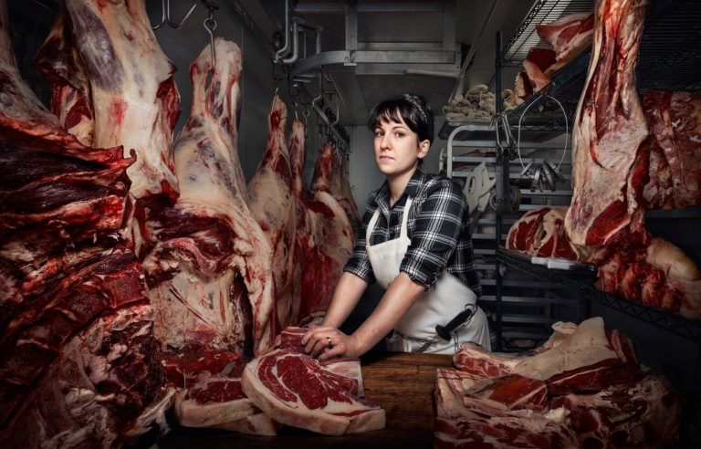 """Heather Marold Thomason is the Head Butcher at Kensington Quarters in Philadelphia. In just a few years, she shifted her career in web design and is now a force in the sustainable food movement."""