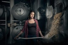 """""""Christina Burris, Brewer and Operations Manager, St. Benjamin's Brewing, Philadelphia, PA."""