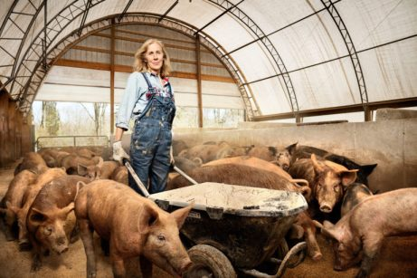 Nancy Poli, Pig Farmer, Stryker Farms, Saylorsburg, PA.