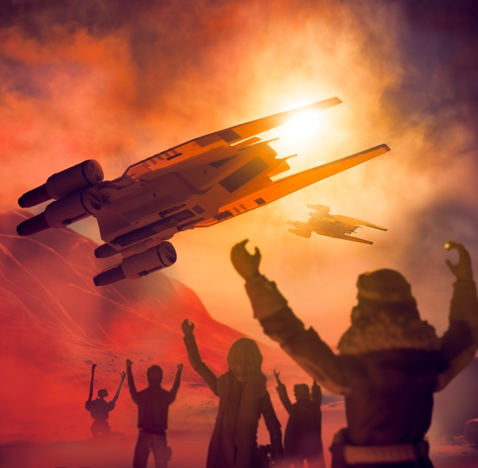 TGT 2016 SW: Rogue One Art Production